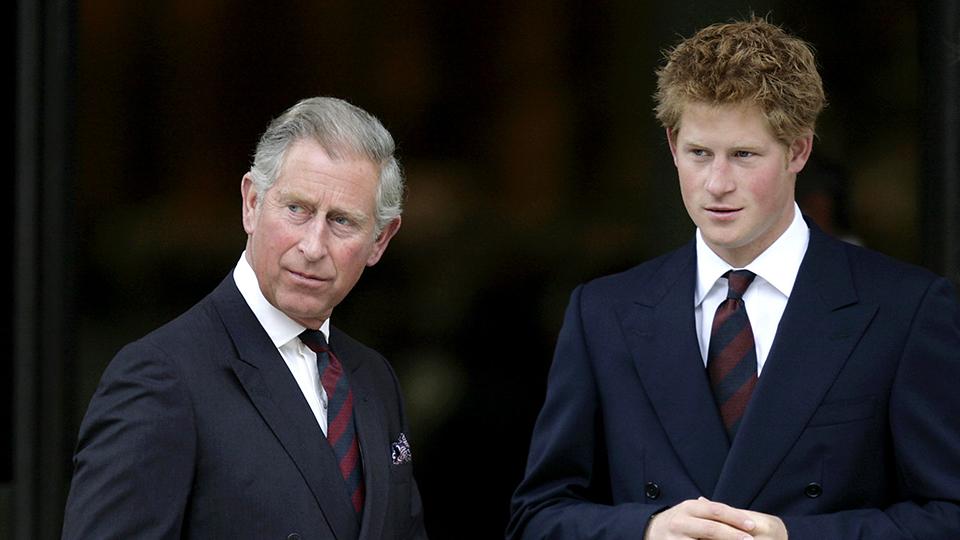 Prince Charles & Prince Harry