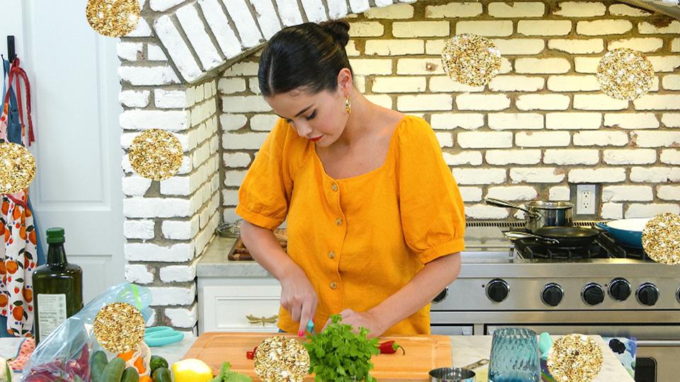 Shop Selena Gomez's Entire 'Selena + Chef' Look For Under $100