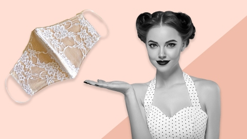 Sexy Social-Distancing-Friendly Face Masks to Sport This Valentine's Day   StyleCaster