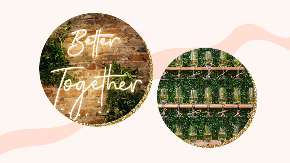 Stand-Out Wedding Details For A Modern Bride's Unique Touch