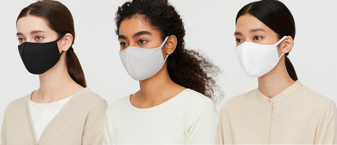STYLECASTER | Uniqlo AIRism Face Masks