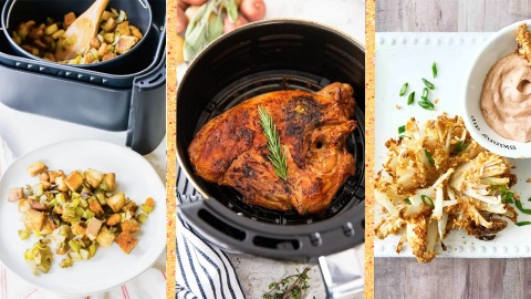 21 Air Fryer Holiday Recipes That Are Too Good Not To Try | StyleCaster