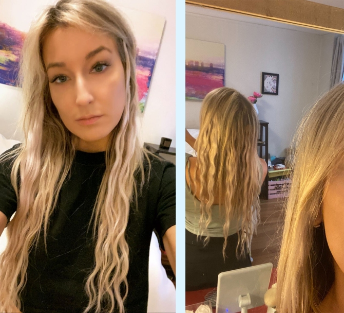 clip in hair extensions image