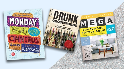 Ah, the Simple Joy of Crossword Puzzle Books–Plus, the Best Ones | StyleCaster
