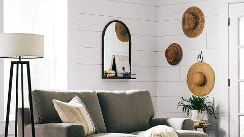 Chic Mirrors with Shelves That'll Give You Extra Storage | StyleCaster