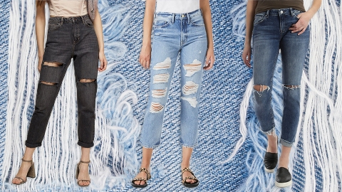 The Best Ripped Jeans To Give Your Fall & Winter Wardrobe Some Edge | StyleCaster