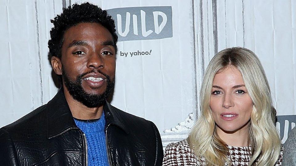 Chadwick Boseman & Sienna Miller