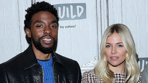 Chadwick Boseman Gave a Portion of His Own Salary to Boost His Co-Star Sienna Miller's Pay | StyleCaster