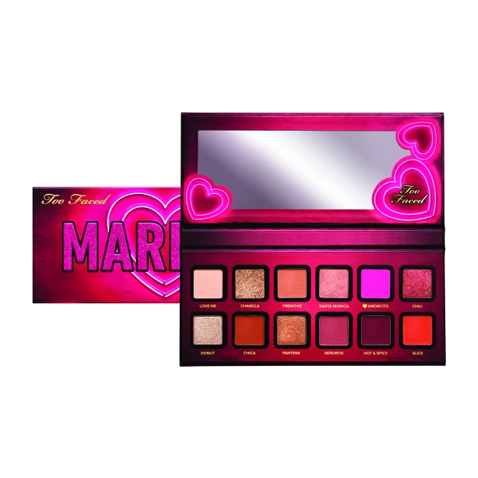 Mariale too faced palette