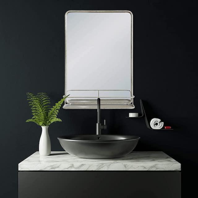 Creative Co-Op Rectangle Metal Wall Mirror