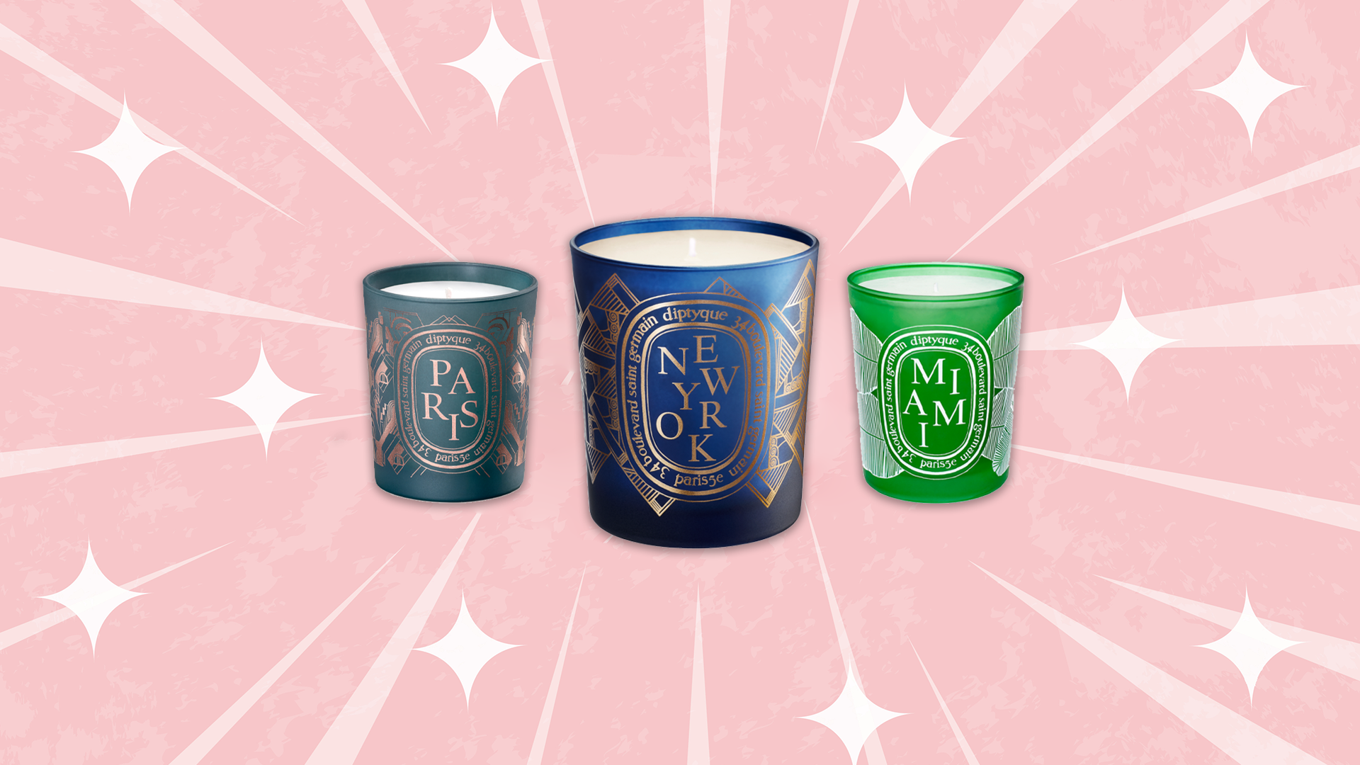 Shop Diptyque's Iconic City Candles Online For One Week Only