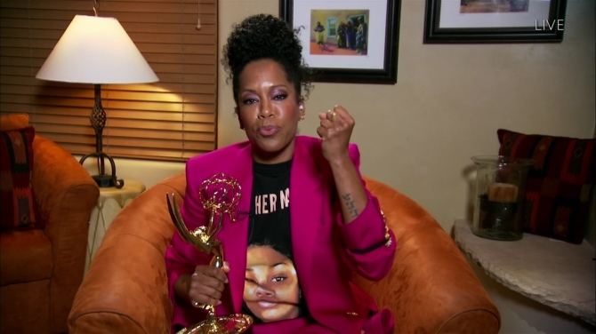 STYLECASTER   Regina King Breonna Taylor Tee Emmys