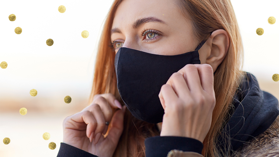 Form-Fitting Face Masks You Won't Be Adjusting All Day Long