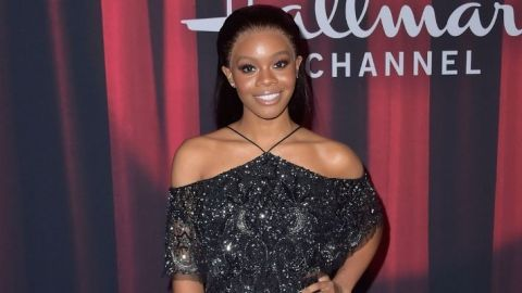 Gabby Douglas Showed Off Her Natural Hair for a Powerful Reason | StyleCaster