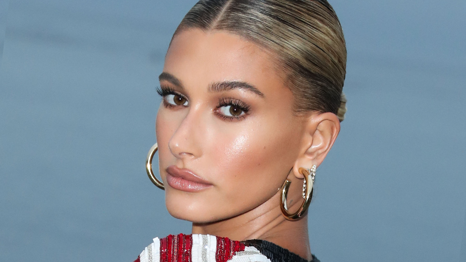 Hailey Bieber's Cropped Cardigan Is Proof Sweaters Can Be Sexy