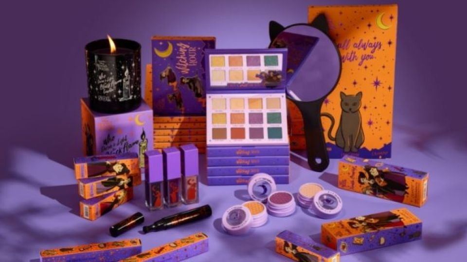 ColourPop's 'Hocus Pocus' Collection Is BACK & Includes the Iconic Black Flame Candle   StyleCaster