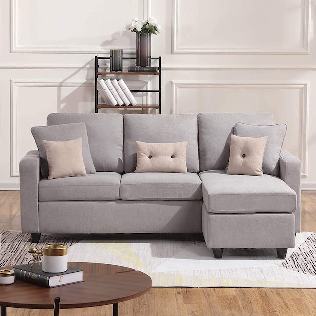 HONBAY Convertible Sectional