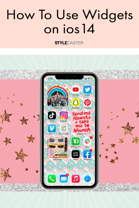 STYLECASTER | ios14 widgets how to