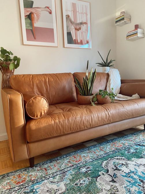 STYLECASTER | article sven sofa review