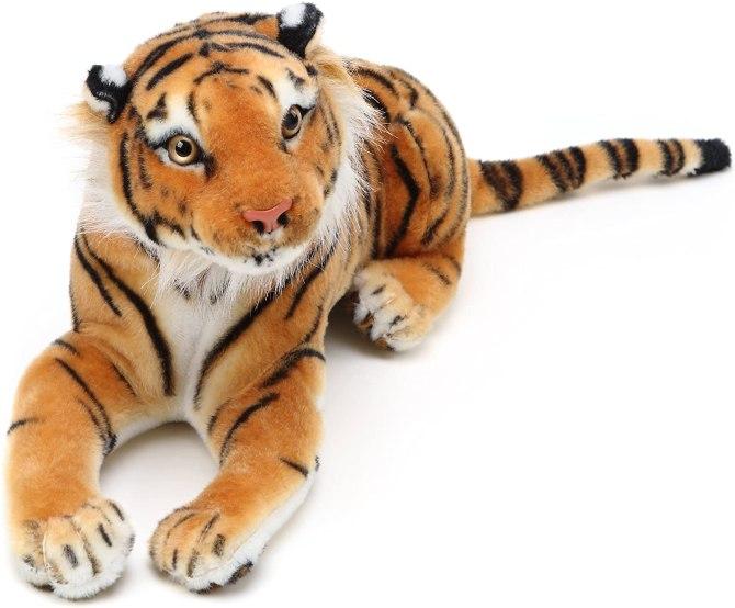 Joe Exotic Halloween Costume: Stuffed Tiger