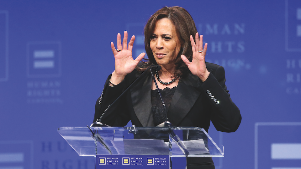 Kamala Harris Wearing Timbs On The Campaign Trail Is Such A Mood