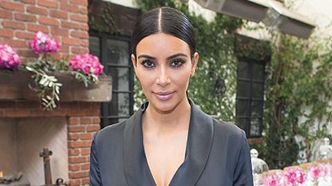PSA: Kim Kardashian Just Revealed Her Secret To Perfect Zoom Lighting | StyleCaster