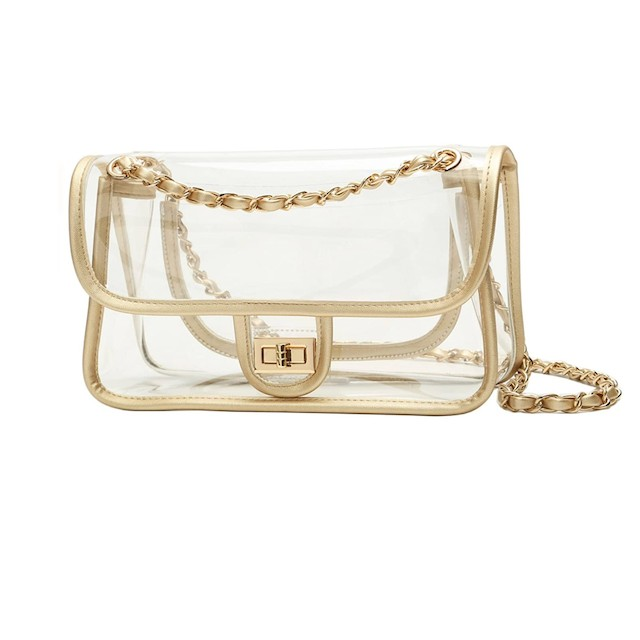 Lam Gallery Womens PVC Clear Purse