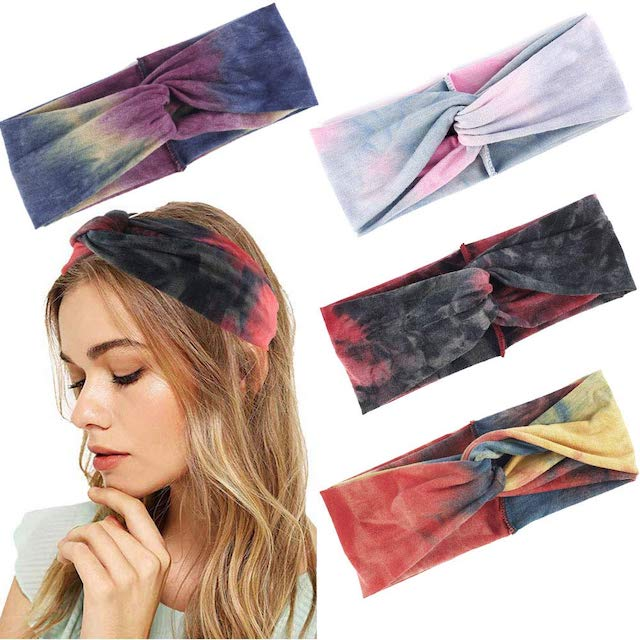 4Pcs Women Headbands