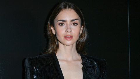 Lily Collins Is Engaged to Director Charlie McDowell & Her Ring Is Massive | StyleCaster