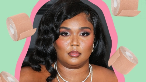 Lizzo Showing Off Her Boob Tape Is Proof She Looks Hot In Anything | StyleCaster