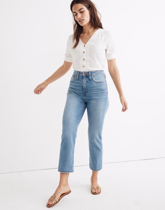 Madewell Curvy Straight Jeans
