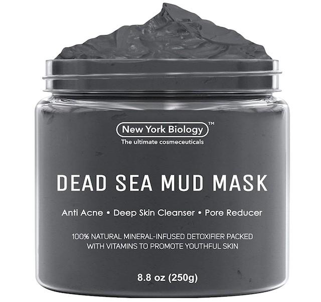Maschera di fango del Mar Morto di New York Biology