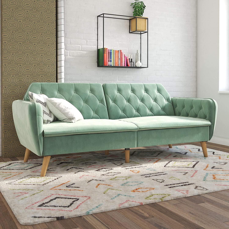 Novograts velvet futon amazon