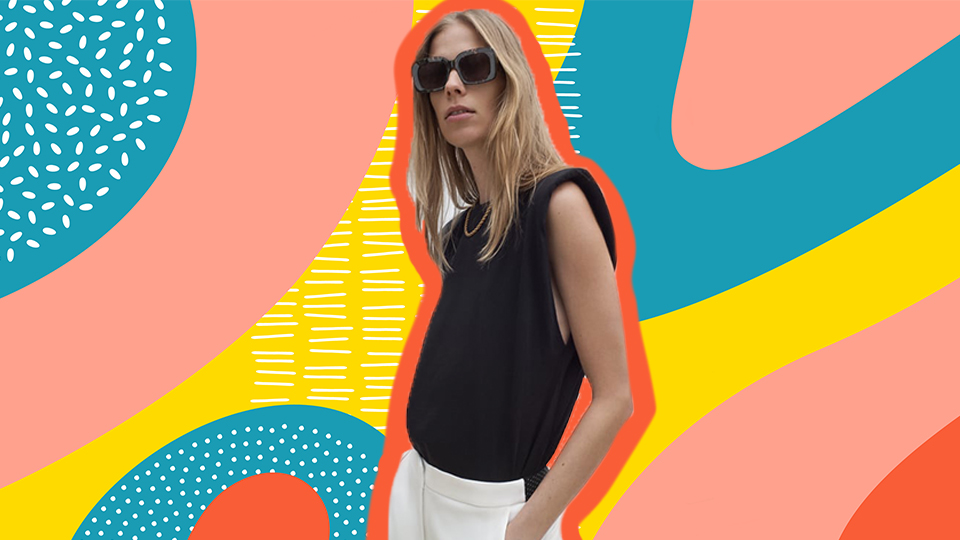 The Padded Muscle Tee Is The Wardrobe Staple You Need For Fall