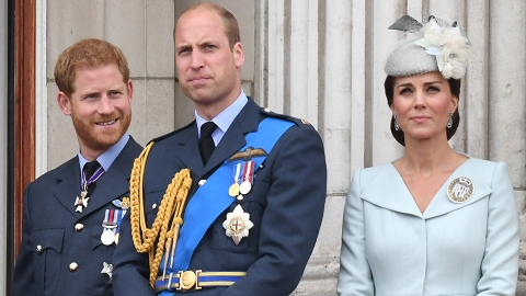 Kate Middleton Is Planning to Keep Prince William & Harry From Feuding at Philip's Funeral | StyleCaster