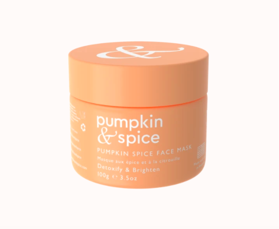 pumpkin and spice mask