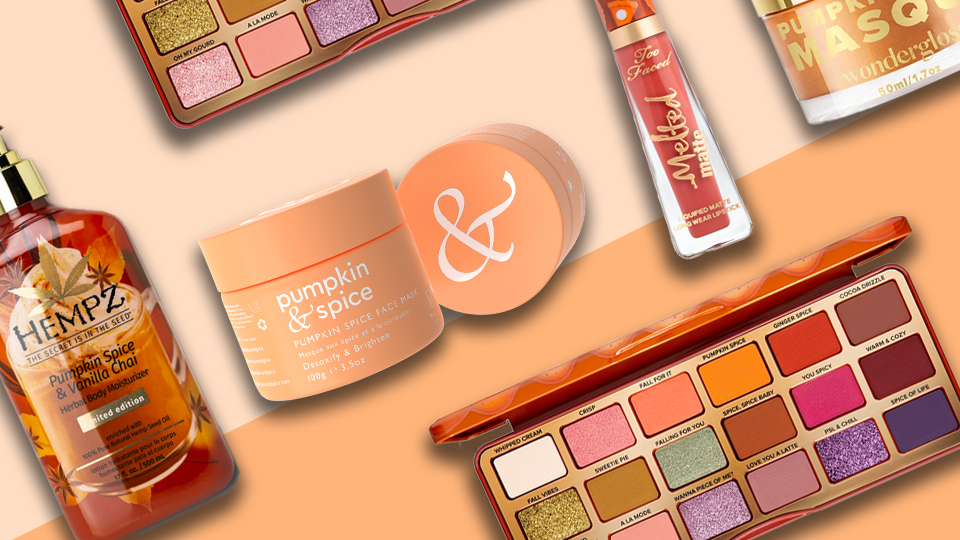 10 Pumpkin Spice Beauty Products to Get You in the Fall Spirit