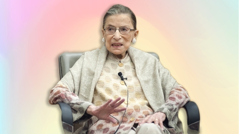 These RBG Halloween Costumes Pay Homage To Ginsburg's Legacy (& Her Collars) | StyleCaster