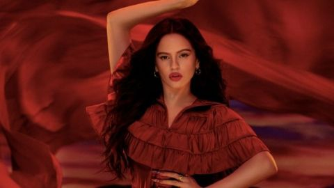 Rosalía Created the Perfect Red Lipstick As the New M.A.C. Viva Glam Ambassador | StyleCaster