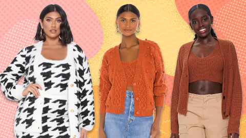 Sweater Sets Are The Fall Trend Beloved By Grandmas & Influencers Alike | StyleCaster