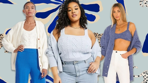 Sweater Sets Are The Trend Beloved By Grandmas & Influencers Alike   StyleCaster