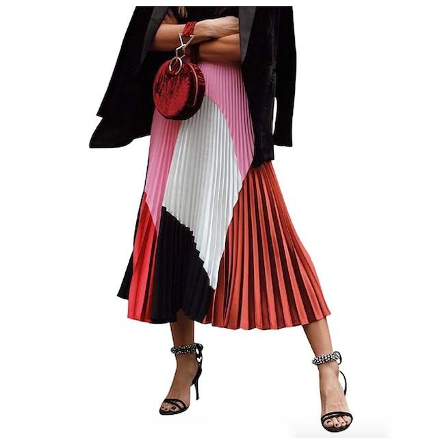 ThusFar Women's Graffiti Pleated Skirts