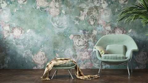 These Wallpaper Trends Make Your Space Look Luxe From Floor To Ceiling | StyleCaster