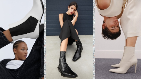 These Zara Boots Have Me Ready To Start Fall, Like, Right Now | StyleCaster
