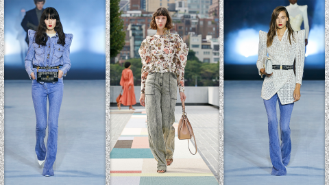 These 2021 Denim Trends Take Basic Jeans To A Whole New Level | StyleCaster