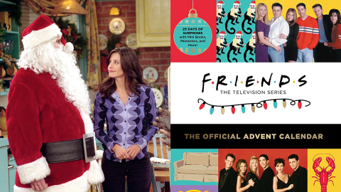 Oh. My. God—There's a 'Friends' Advent Calendar & It Includes Monica's Dancing Turkey | StyleCaster