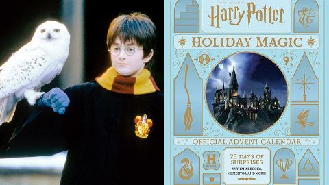 There's a 'Harry Potter' Advent Calendar & It Includes Ornaments For Each Hogwarts House | StyleCaster