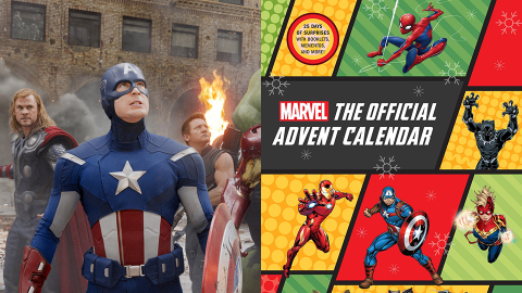 There's a Marvel Advent Calendar & It Includes Spider-Man & 'Guardians' Ornaments | StyleCaster