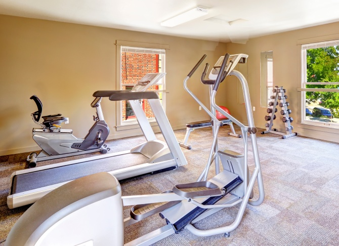 STYLECASTER | at home gym