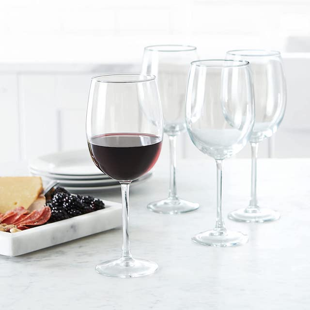AmazonBasics All-Purpose Wine Glasses
